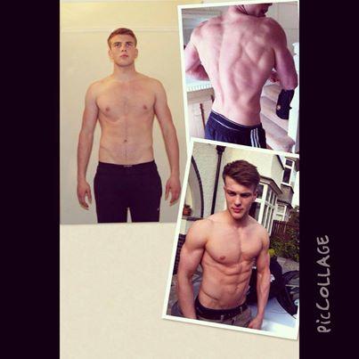 Matthew Kay's transformation pic !!