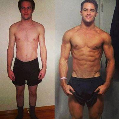 5 year Body Transformation