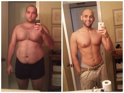 Big Difference Male body transformation