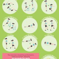 7 Minute Workout That You Can Do At Home