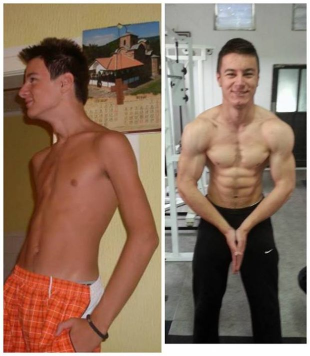 From Skinny To Muscular 2 Years Transformation