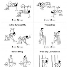V Shape Upper Body Workout Program