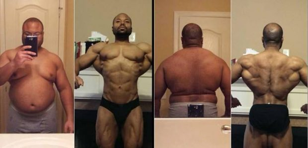 Extreme Weight Loss Transformation