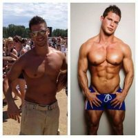 Vi Model Buddy Rivera Body Transformation