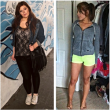 48 Pound LOst Female Body Transformation