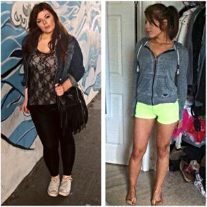 48 Pound LOst Female Body Transformation