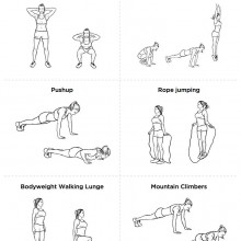 "Men and Woman Fat Burning ""Metabolic Master"" Workout Routine"