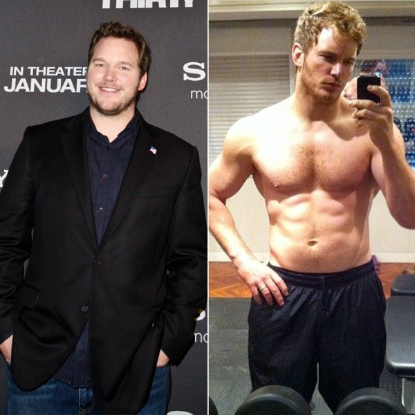 Chris Pratt epic weight loss