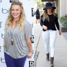 Hilary Duff Weight LOss Transformation