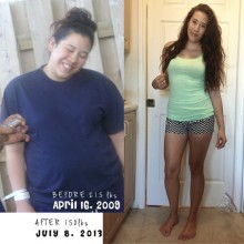 65 Pound Lost Female Body Transformation