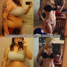 Stunning 70 Pound Lost Female Body Transformation