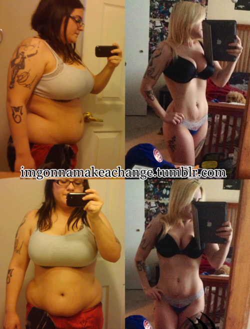 Stunning 70 Pound Lost Female Body Transformation
