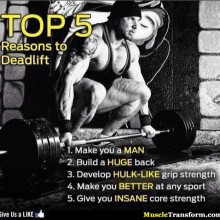 TOP 5 REASONS Why You Should Deadlift