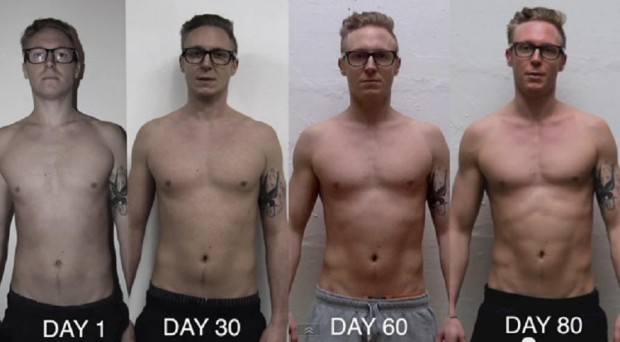 105 DAYS Freeletics Bulking TRANSFORMATION Video