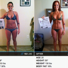 23 Pound Weight Loss Female Transformation