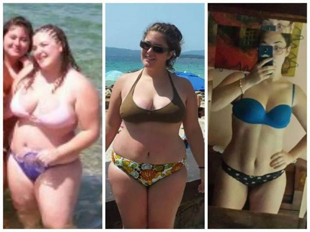 Female 1 Year 80 Pound Loss Transformation