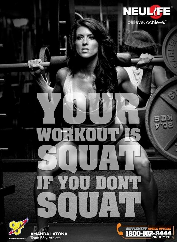 High Quality Squats Workout For Quotes. QuotesGram
