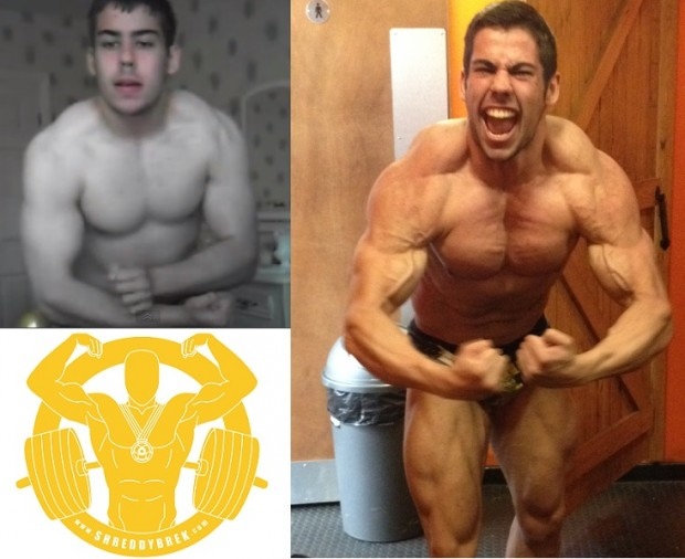 Aesthetic Teen Adam Foster 1 Year Body Transformation Video