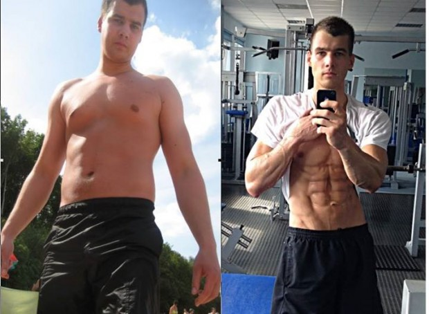 Adrian Osiecki 22 Pound Loss Shredded Transformation