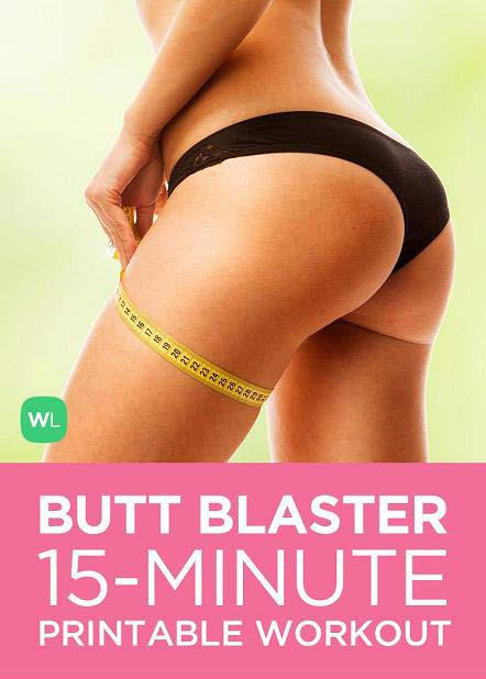 15 Minute Butt Blaster Workout Routine for Toned Glutes