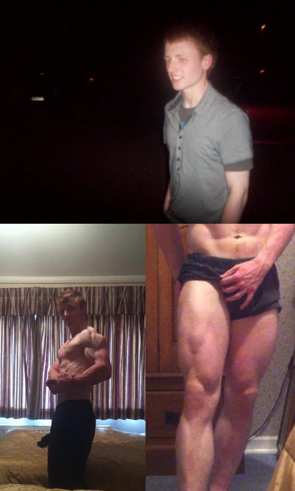 Dan Mennell From Skinny to Aesthetic Transformation