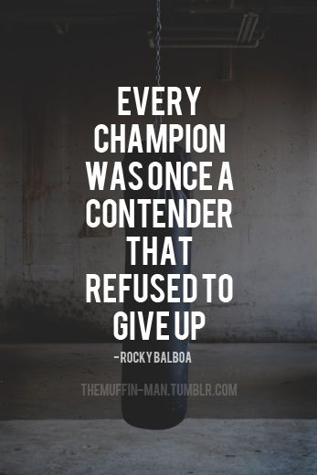 Rocky Balboa Motivation Quote