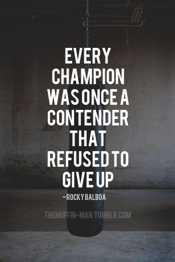 Rocky Balboa Motivation Quote
