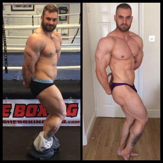 Russell Los Barnard Muscular Transformation