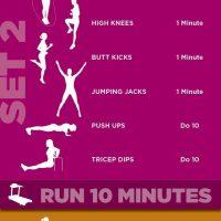 KILLER Cardio Circuit Workout Routine