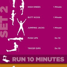 KILLER Cardio Circuit Workout Routine