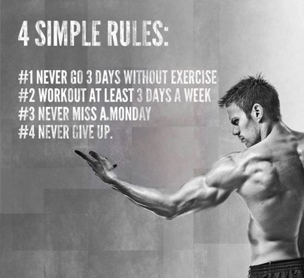 4 Simple Rules for Bodybuilder Motivation Quote
