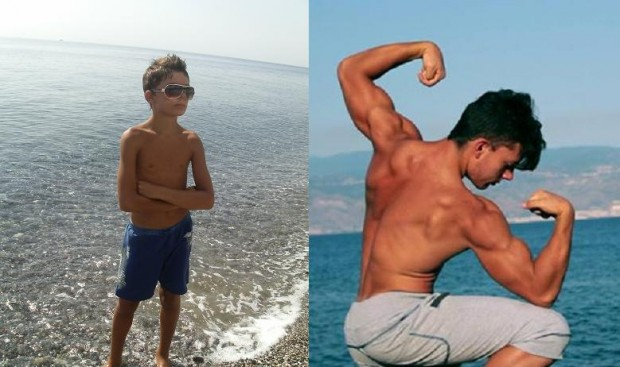 Giovanni 16 Years Old Teen Bodybuilder Transformation Video & INTERVIEW