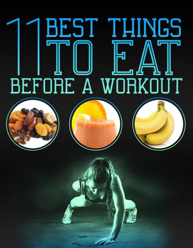 11 Top Food To Eat Before Working Out