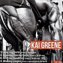 Kai Greene MASSIVE LEG Training Routine