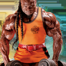 Kai Greene BIG shoulder exercises routine
