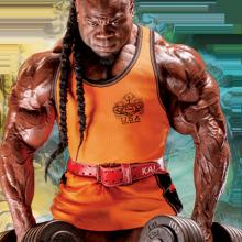 Kai Greene BIG shoulder exercises routine