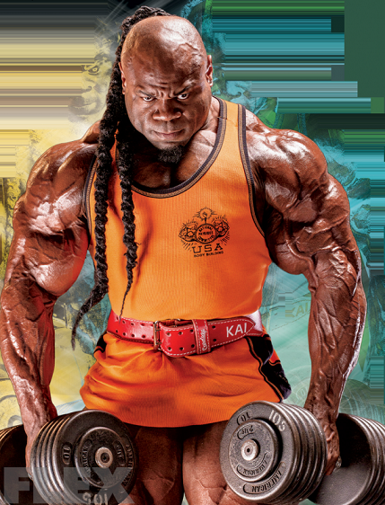 Kai Greene Shoulder Exercises