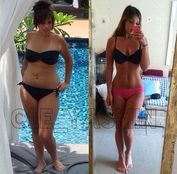 Yasemin 45 Pound Weight Loss Transformation