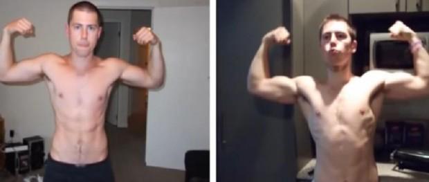 8 Week Steroid Free Body Transformation