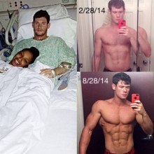 Brian's 1 Year Recovery Body Transformation