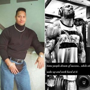 The Rock Body Transformation