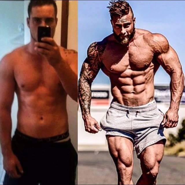 skinny transformation