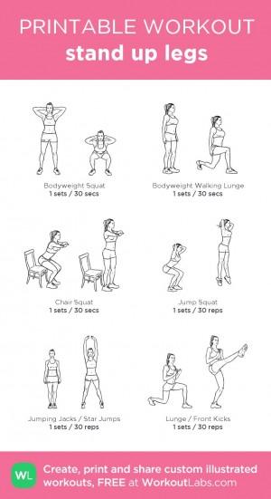 Bodyweight Leg Workout for Women