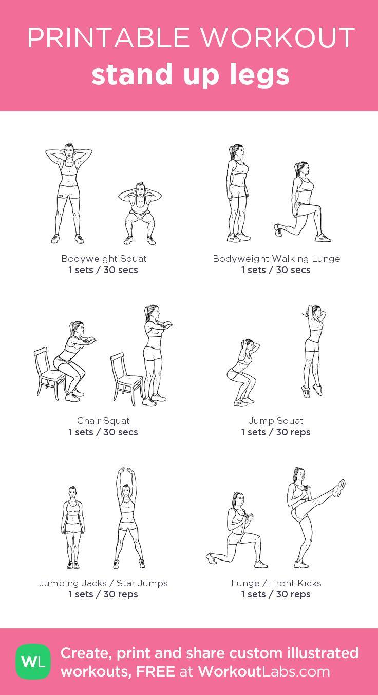 6 At Home Bodyweight Leg Workout For Women