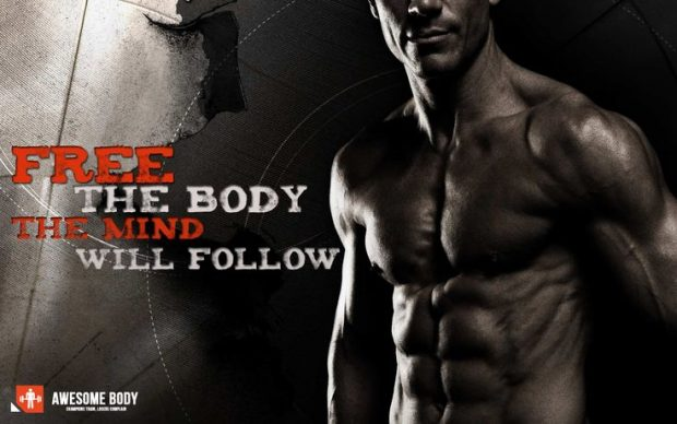 FREE THE BODY – Motivational quote
