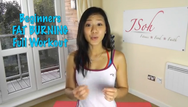 at home female workout