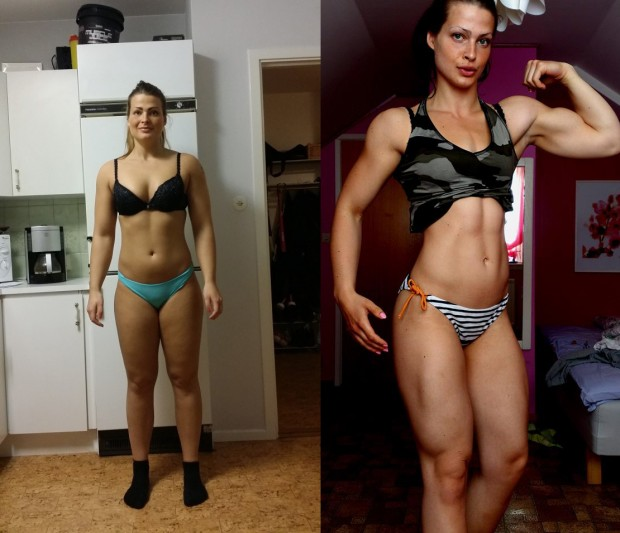 Nicole Lindberg Body Transformation with HIIT Training INTERVIEW