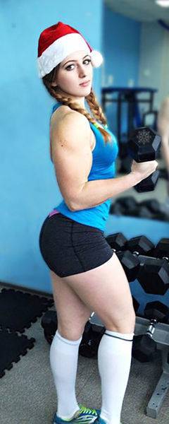 Cute 17 Year Old Girls cute 17 year old barbie doll face girl turn powerlifter