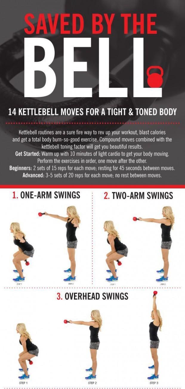 14 Kettlebell Calorie Blaster Workouts