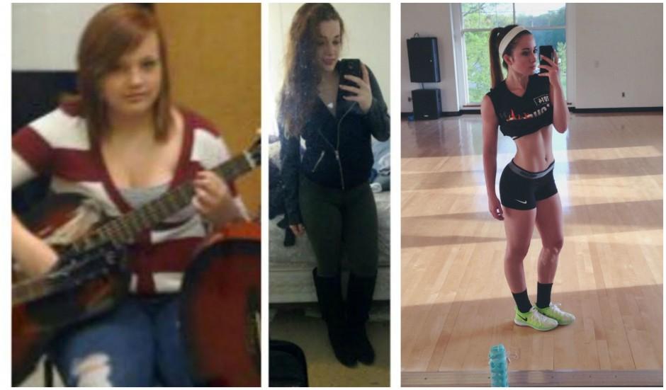girl fat loss transformation